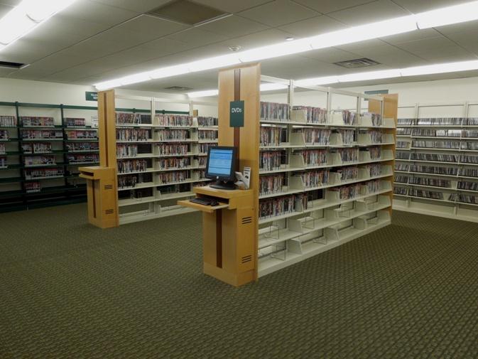 Ark Library Shelving